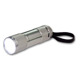 LED torch grey