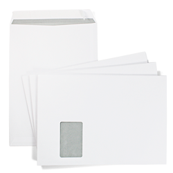 25 envelopes C4 with window (for A4)