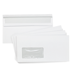 25 envelopes DIN long with window