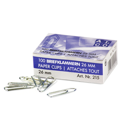 Paper clips Pack of 100