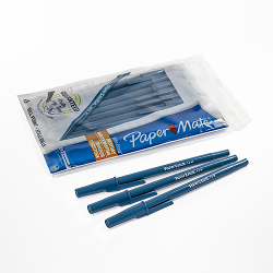 Ball point pen blue pack of 10