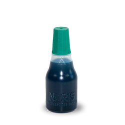 Stamp ink green